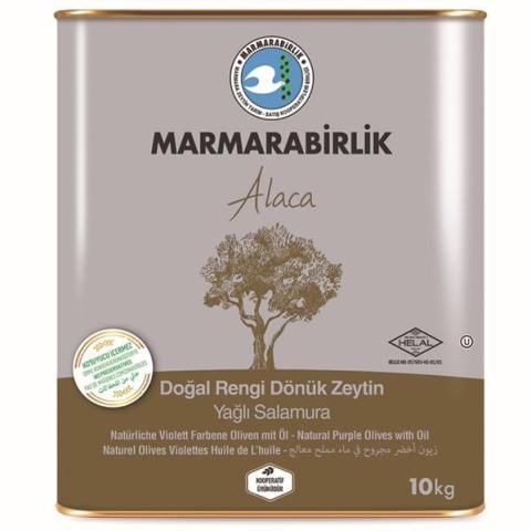 Marmarabirlik Alaca 10 kg (L) Yağlı Salamura Zeytin