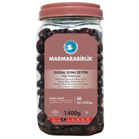 1.400 Gr. (M) Pet Siyah Zeytin