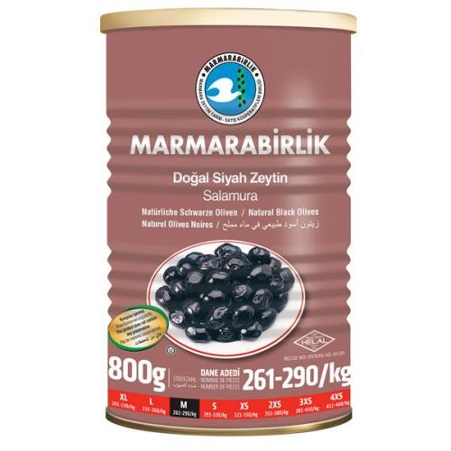 800 Gr. (M) Siyah Zeytin